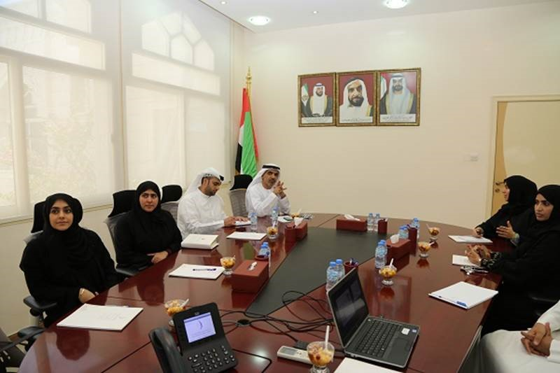 A delegation from Social Development Sector of Executive Committee Office of the Abu Dhabi Executive Council Visits ZHIC