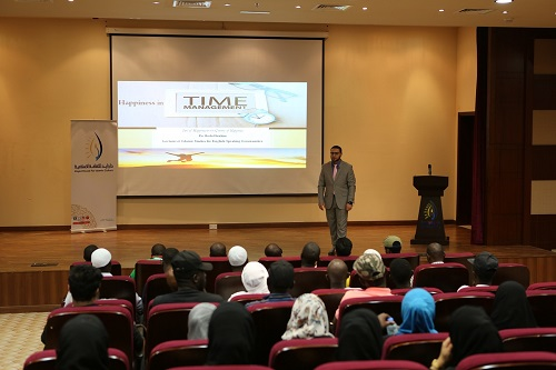 500 Benefited from Series of Lectures 'Points of Happiness in the Land of Hppiness' Organized by ZHIC