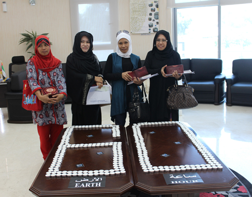 ZAYED HOUSE FOR ISLAMIC CULTURE TAKES PART IN EARTH HOUR CAMPAIGN