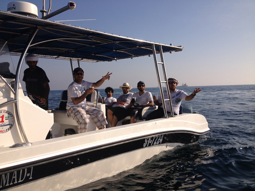 Zayed House for Islamic Culture Organizes A sea Tour For Its Staff
